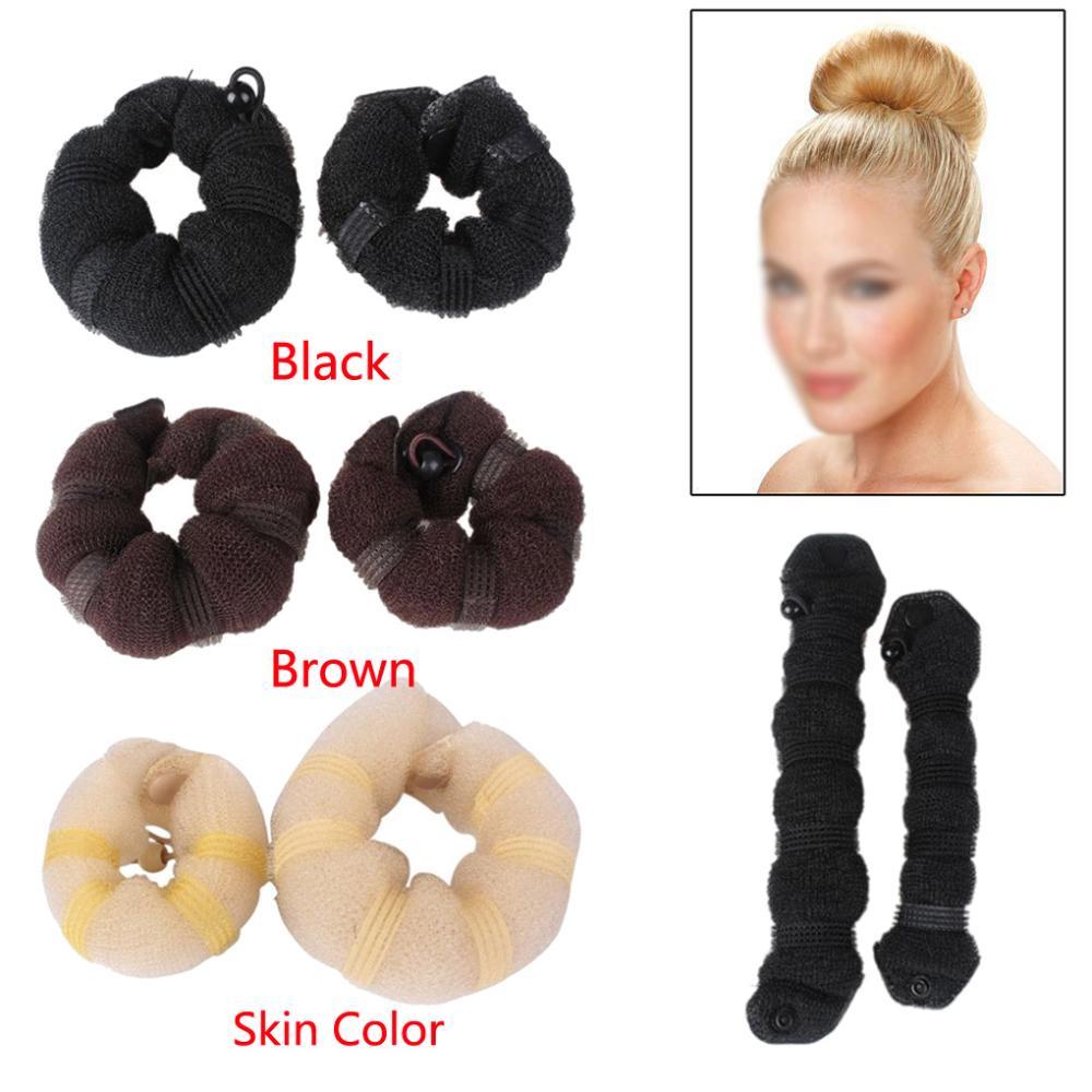 Заколки, Шпильки для волос Unbrand fashional 2 /3 HQ Bun Maker unbrand diy sushi maker