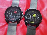 Watch Men Stainless steel new Luxury Brand DZ Military watches Quartz watch Large dial Watches
