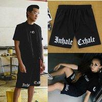 2015 Knee-length pants sports pants casual  print personalized hiphop skateboard net pants summer