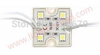 20pcs 5050 4 LED Modules Green Waterproof IP65 DC12V smd led 5050 module Free Shipping