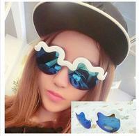 Wholesale Fashion 2015 Funny Party Sunglasses New Style Women Ladys Leisure Eyewear Free shipping