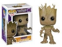 groot anime figure used by pvc  free shipping by air mail 100%guaranteed