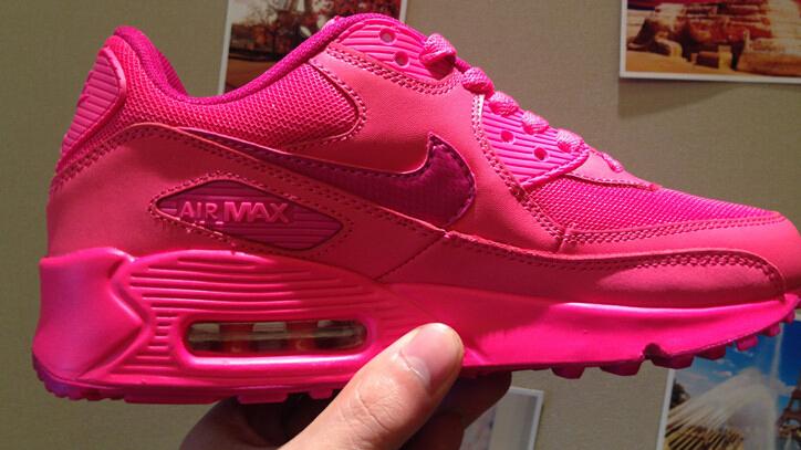 nike air max 90 rosa fluorescente