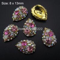 10pcs  3D nail decoration DIY nail beauty rhinestones strass nail art tools supplies AM241-1