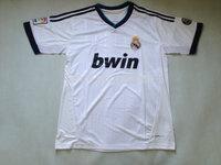 sale  !!     Real Madrid   home ronaldo  2012  -2013   season   Home     Football  shirt     Soccer  jersey   Free Shipping