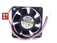 AVC 6025 C6025B12L 12V 0.12A 6CM dual ball mute CPU fan