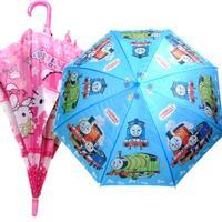 Kids Cartoon Umbrella Cheap Children Princess Mickey Thomas Kitty Umbrellas
