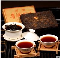 10 Years Old Top Grade Chinese 250 g Yunnan Menghai Raw puerh tea Old Tea Brick Pu'Er Tea Compressed Cooked Tea