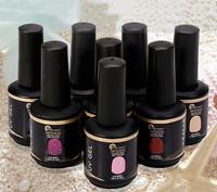 4pieces/lot 1 Base Coat+1Top Coat+ 2UV Gel 15ml Bottle Soak Off UV Led Nail Gel Polish,90 Colors for Chioce