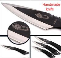 The magic were the 3 set outdoor diving leggings knife self-defense survival knife Wilderness survival knife