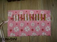 Free Shipping Bamboo crochet hooks & bag/box 12pcs 3.0-10.0mm crafts crochet for DIY knitting Needlework