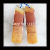 Amazonite Earring Beads,40x10x4mm,7.0g