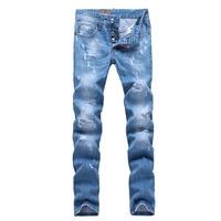 dsq jeans men,italy famous brand d2 ,designer denim men's pants slim fit men jeans 28-36