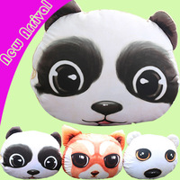 panda pillow cover Cushion Cover Personality Waist Pillow cover Girl Creative Gift animal shape Nap pillow  animal seat cushion