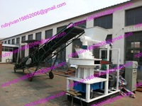 MKL450-55 ring die wood pellet machine automatic lubricating system control system