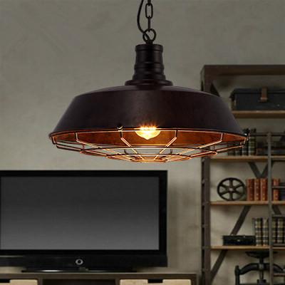 D46cm LOFT vintage bar lamps lamp modern minimalist restaurant bar wrought iron chandelier Edison(China (Mainland))