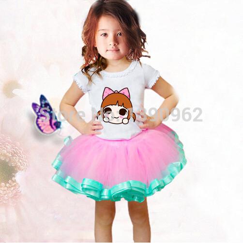Юбка для девочек K-Lucy Factory  T-0025 юбка lucy