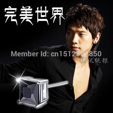 925 prata masculina brinco moda único macho personalidade brincos acessórios(China (Mainland))