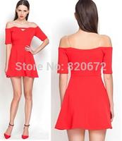 European and American trade sexy ladies Sexy halter collar halter dress