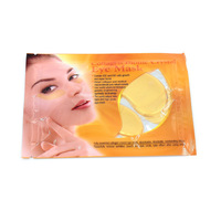 Eye Mask 5pairs Collagen Gold Mask Bionic Crystal Eye Mask Contain EGF&FGF Collagen Face Mask