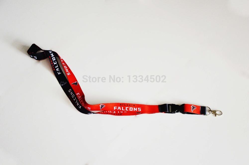 NFL Atlanta Falcons Lanyard Key Chain/ ID Badge/ Cell Phone Strap(China (Mainland))