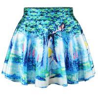 speed sell tong eaby selling 3 d wood county cat nana digital printing new short skirt saias femininas 2014 new