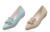 Top sale sweet sexy ladies simple flat shoes