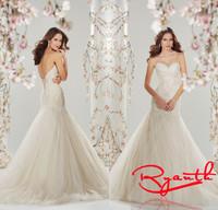 Vestidos De Casamento Simple White Mermaid Wedding Dress Fashion Plus Size Wedding Dresses 2015 Bride Gown Robe De Mariee RBW253