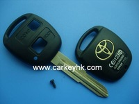Direct Factory&Novel Item Toyota 2 buttons key shell with TOY41 blade for toyota hilux
