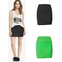 Yomsong New Women's Mini Skirt Sexy Sports Above Knee High Waist Skirt 2015 New Fashion Short Golf Skirt 2 Colors 2 Size