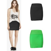 Yomsong New Women's Mini Skirt Sexy Sports Above Knee High Waist Skirt 2015 New Fashion Short Golf Skirt 2 Colors 2 Size