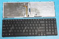 laptop keyboard US layout for SONY SVE15 BLACK FRAME BLACK (Backlit For Win8,Version2) 149150911USX