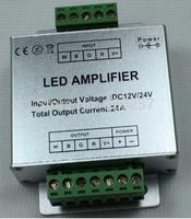 free shipping 5pcs/lot RGBW amplifier DC12V-24V 24A, 6A*4 channel