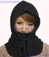 1 x Large CS outdoor winter wind cycling hats for men and women with thick warm head mask