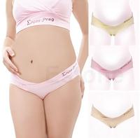 New Fashion Pregnancy Cozy Lingerie Panties Briefs Maternity Bragas Low Waist Pregnant Underwear/panties plus size 3Colors