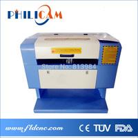 Low price Philicam CO2 laser machine 5030/6040/laser cutting machine desktop