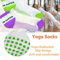 Hot Sales Women Professional cotton yoga sports socks,Anti-skidding Anti-microbico Pilates Socks,new brand Yoga Socks