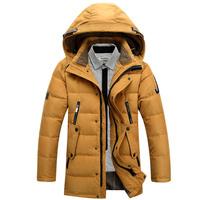2014 casual down men winter jackets down-jacket white duck down coat cotton coats men parka men  face jacket vestidos gift