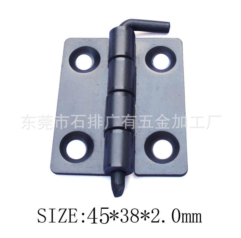 Supply 45 * 38 * 2mm blue zinc plated iron hinges, iron blue zinc plated hinges, hinge Dongguan(China (Mainland))