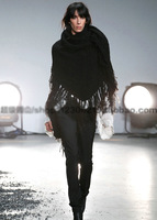 2014 Warm winter wool knitted scarf new European and American long scarf shawl fringed scarves!!!!!FREE SHIPPING