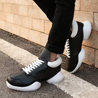 2015 new spring Strange fashion hip-hop shoes ,lover's tide casual Flats, Couples breathable leather boots ,free shipping!