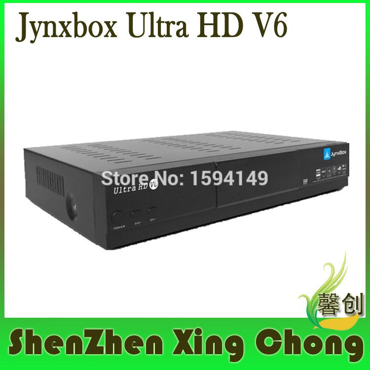 satellite finder jynxbox ultra hd v6 satellite internet receiver fta hd receiver antenna tuner Free JB200 Module(China (Mainland))