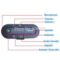 High Quality Bluetooth Handsfree Car Kit In Car Speaker Phone