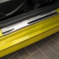 Door sill plate door sill scuff plate Car Accessories for FORD FOCUS 3 MK3 sedan hatchback 2012 2013