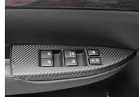 Subaru Legacy Car Door Panel Stickers armrest Stickers for Legacy decorative stickers 4pcs/set free shipping