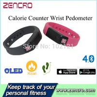 Smartband Bluetooth 4.0 Smart Wrist Watch Fitness Tracker Fuelband Pedometer Bracelet