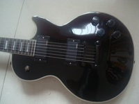 NEW electric guitar black finish emg active pickup free shipping hot guitars instock send in 2 days