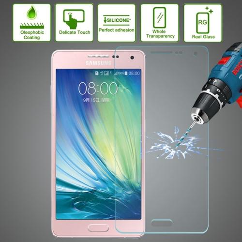 Mais recente alta qualidade móvel celular protetor de tela 0,3 mm à prova de explosão moderado a película de vidro para Samsung Galaxy A5 / A500F