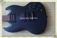 hot guitars electric guitar free shipping S G MODEL matte black instock send in 2 days guitar sales