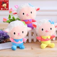WJ229-2 Fashion Lovely Plush Animal Cartoon Anime Toy Car Ornament 18CM Sheep Style Supernova Sale Baby Birthday Christmas Gift